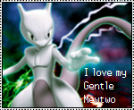 Gentle Mewtwo Stamp by OshawottGirl