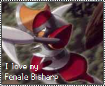 Female Bisharp Stamp by OshawottGirl