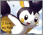 Male Emolga Stamp by OshawottGirl