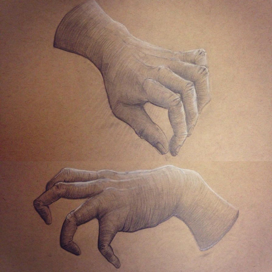 hand study by Notsonorm-ART