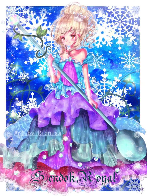 royal sendok - AMEBA PIGG by riznisa-san