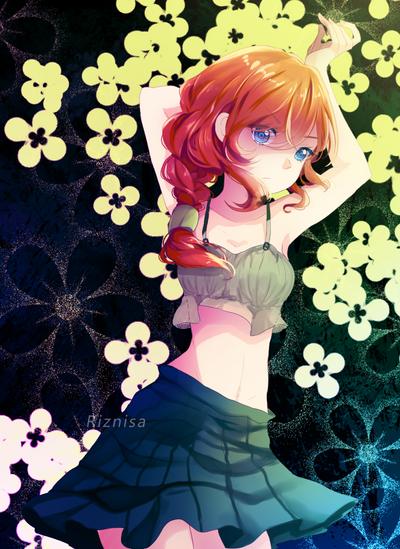 meruko : flower theme by riznisa-san