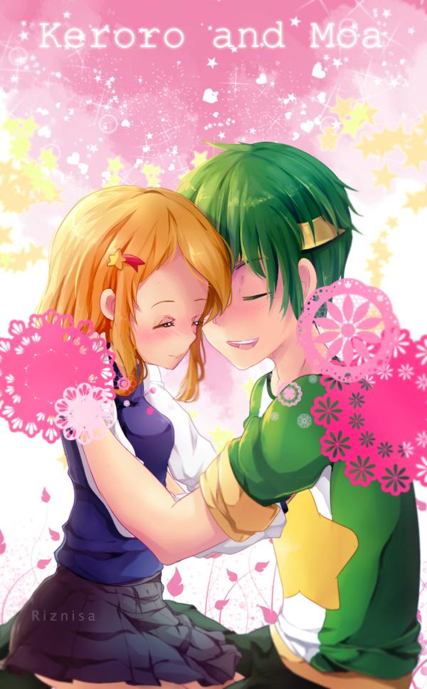 Keroro and Moa by riznisa-san