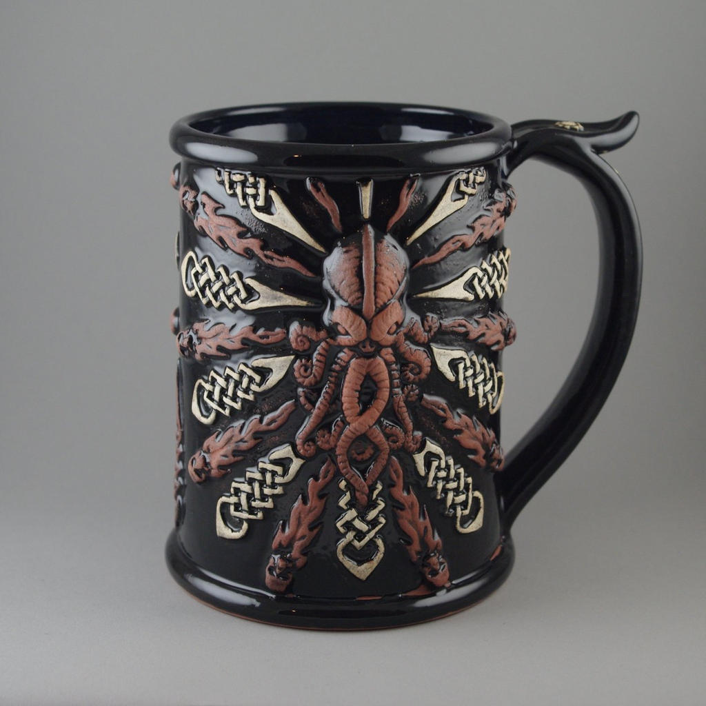 Cthulhu Beer Stein by TheTrespasser