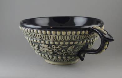 Grapeleaf Tea Cup