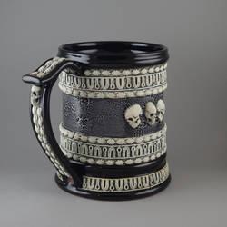 Skulls Beer Stein