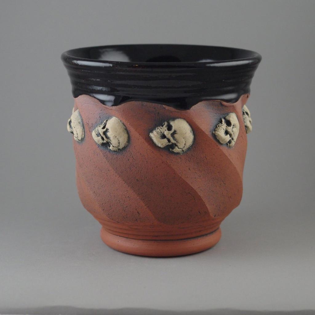 White Skull Beaker by TheTrespasser