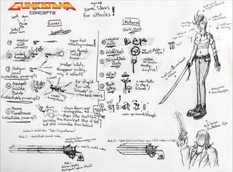Gunkatana: Concepts1