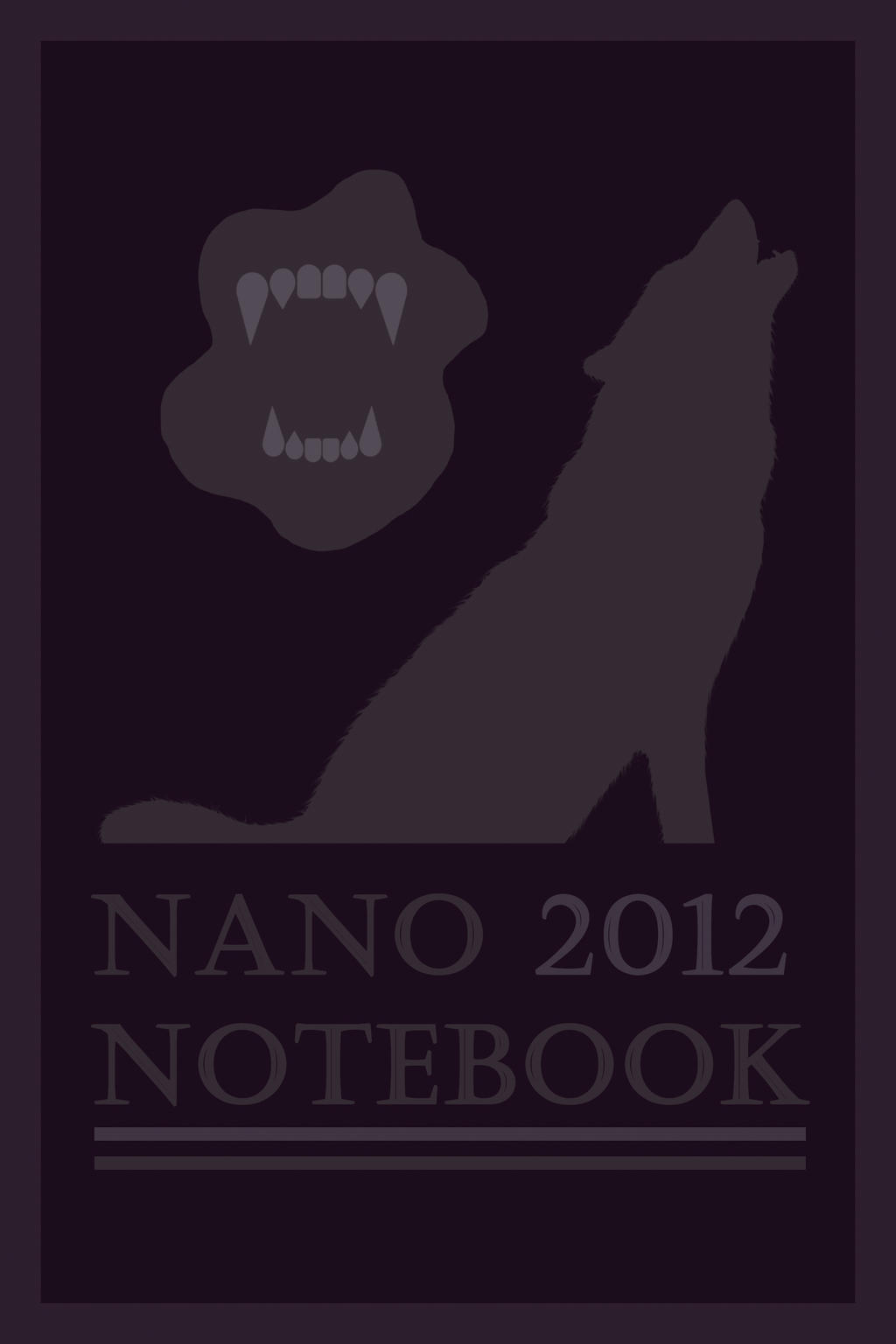 My NaNo Notebook Cover by Margie22