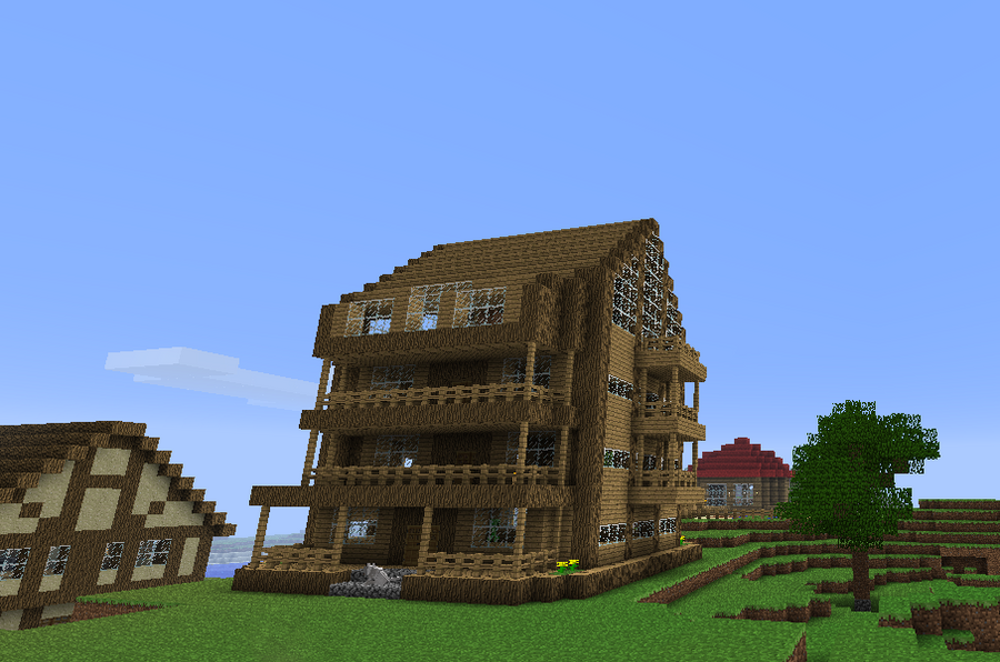 Minecraft house by Markecgrad on DeviantArt