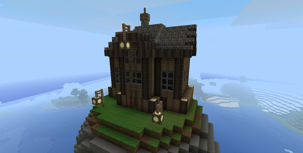 Cool Minecraft House Designs Brick Steampunk Minecraft House By