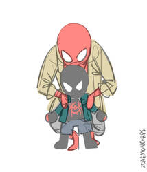 Smol Spiders by DaemonCorps