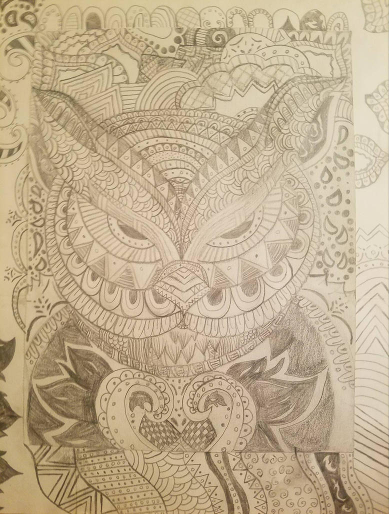 owl art by xxlexixx98