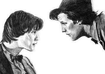 Matt Smith - Doctor Doctor by The-Ribboned-One