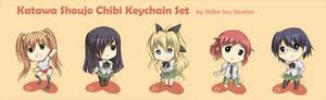 Katawa Shoujo Keychain Set