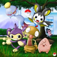 A pokemon team by ShenWooo