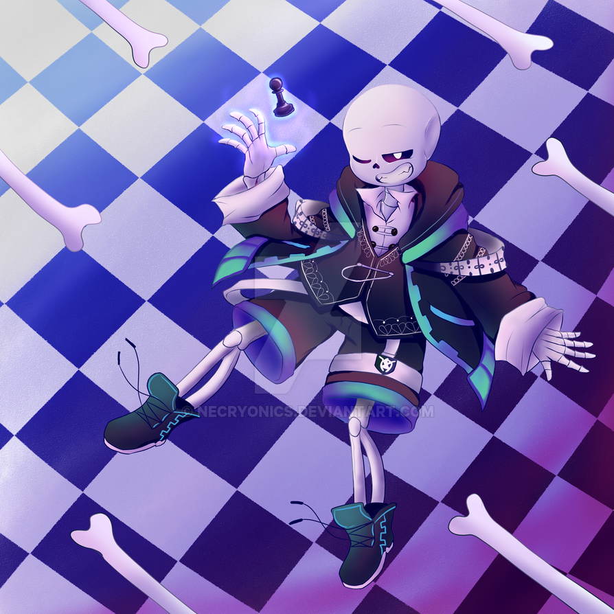 Chesstale Sans Checkmate By Neko Priestess327 On