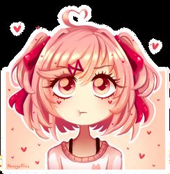 [DDLC] Adorable Little Natsuki by NecryoNics