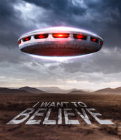 I WANT TO BELIEVE by DistrictAliens