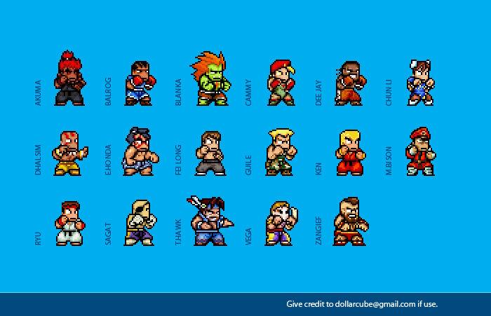 Super Street Fighter 2 Sprites By Dollarcube On Deviantart