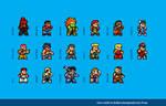 Super Street Fighter 2 Sprites