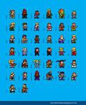 Street Fighter Alpha Max Sprites