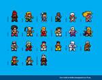 Street Fighter 3 Sprites