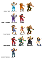 Final Fight Playable Characters