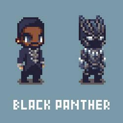 Black Panther (Chadwick Boseman RIP)