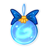Tree Ornament - Frozen Wind by TorimoriARPG