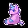 Pink Fluffy Unicorn Plush