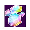 Rainbow Glass Shards