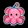 Plushy Octopie Charm by TorimoriARPG