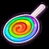Rainbow Sparkle Lollipop