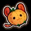 Pumpkin Creature Plush