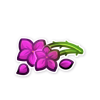Magenta Flowers by TorimoriARPG