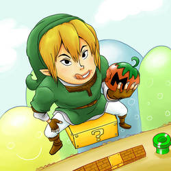 SSBB: Link and Tomato 2