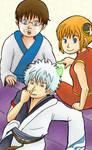 The Yorozuya trio