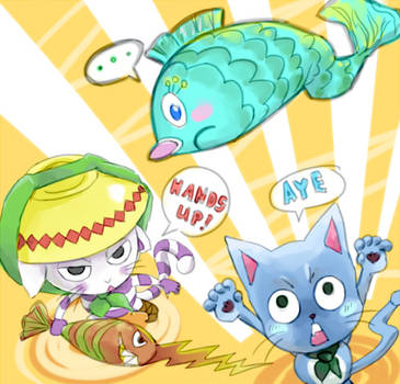 They both love fish