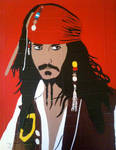 Jack Sparrow in duct tape