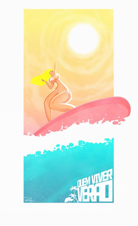 Summer girl by rflhnsn