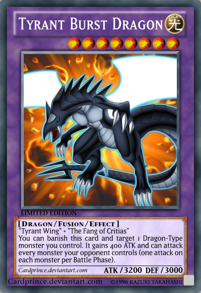 Tyrant Dragon Effect Tyrant Burst Dragon by