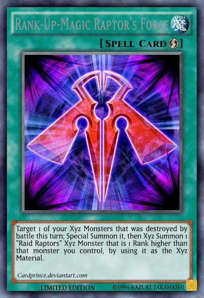 Rank-Up-Magic Raptor's Force by CardPrince