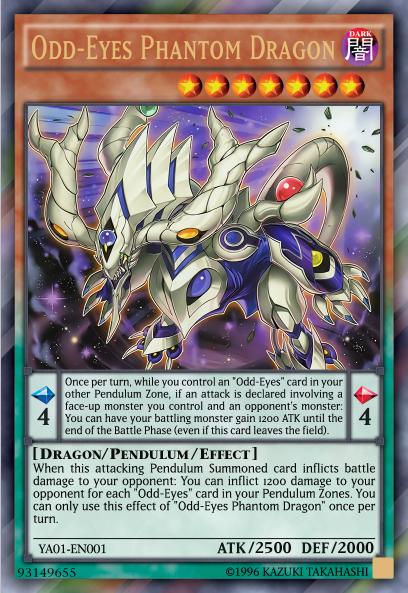 Odd Eyes Phantom Dragon By Cardprince