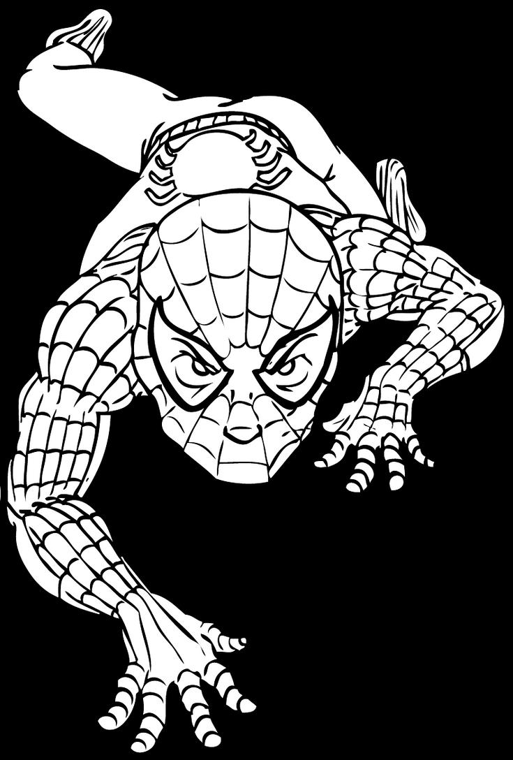 Myself as spiderman by marvelmania on deviantart for Foto spiderman da stampare