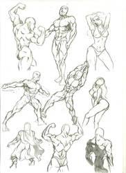 Anatomy Study 3 by marvelmania