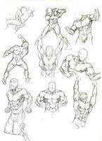 Anatomy Study 4 by marvelmania