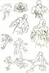 Anatomy Study 7 by marvelmania