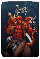 Hellboy COLORED