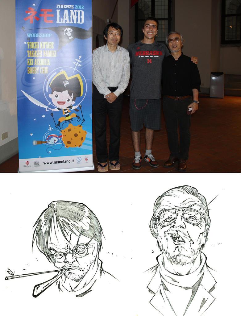 Takashi Namiki - me - Yoichi Kotabe by marvelmania